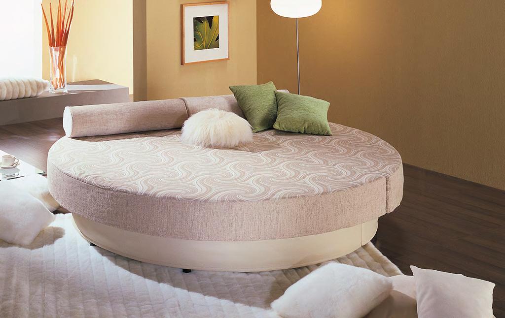Круглая кровать Соло