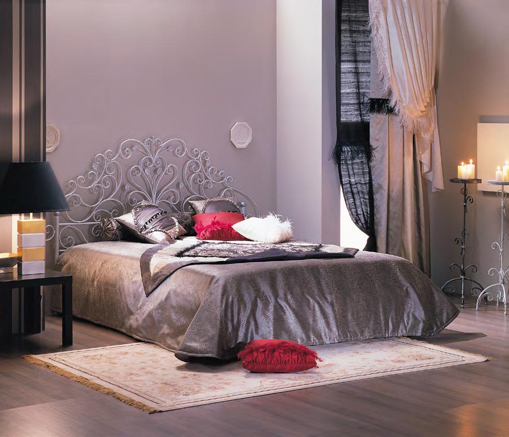 Кованая кровать Анета