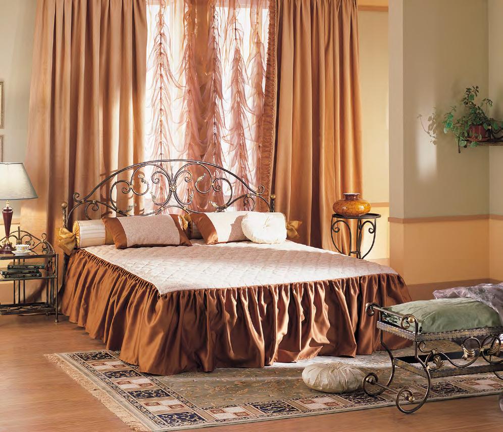 Кованая кровать Кёртис