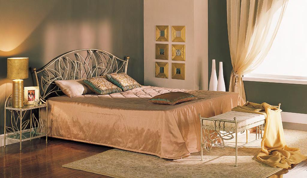 Кованая кровать Капри