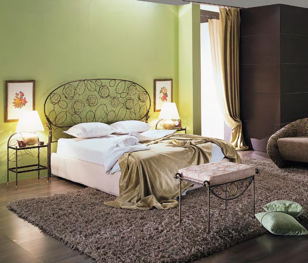 Кованая кровать Берта