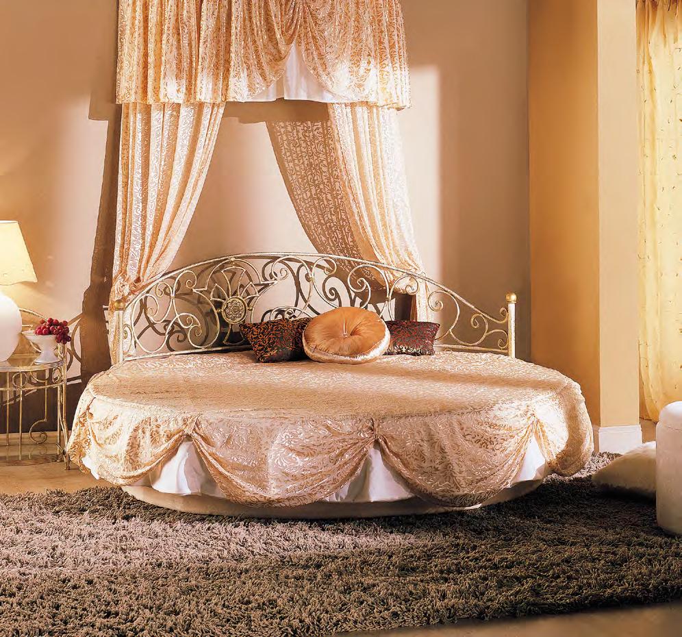 Кованая кровать Мадена
