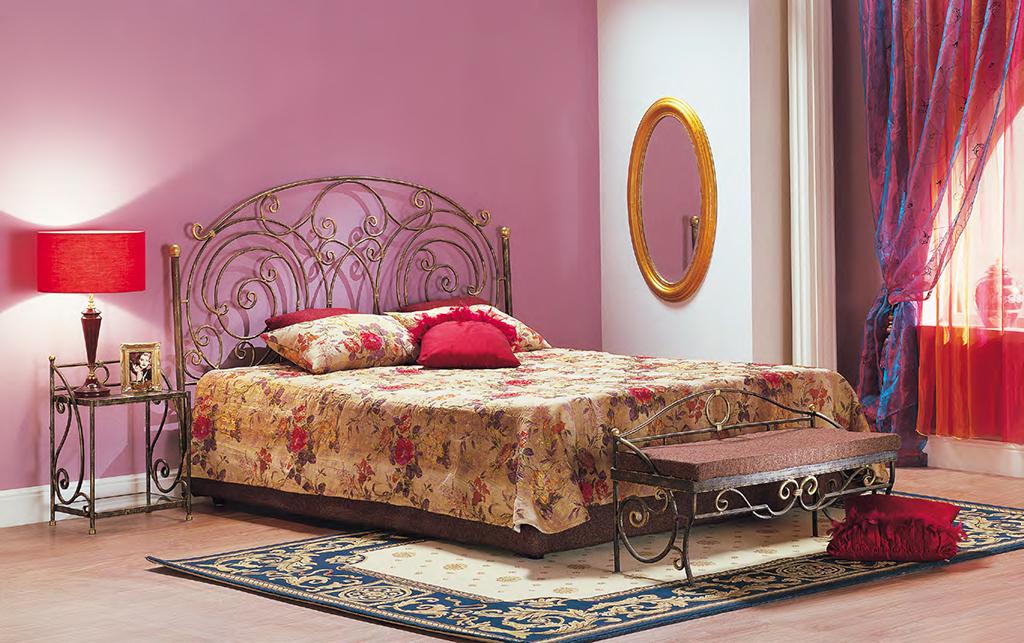Кованая кровать Шарлота