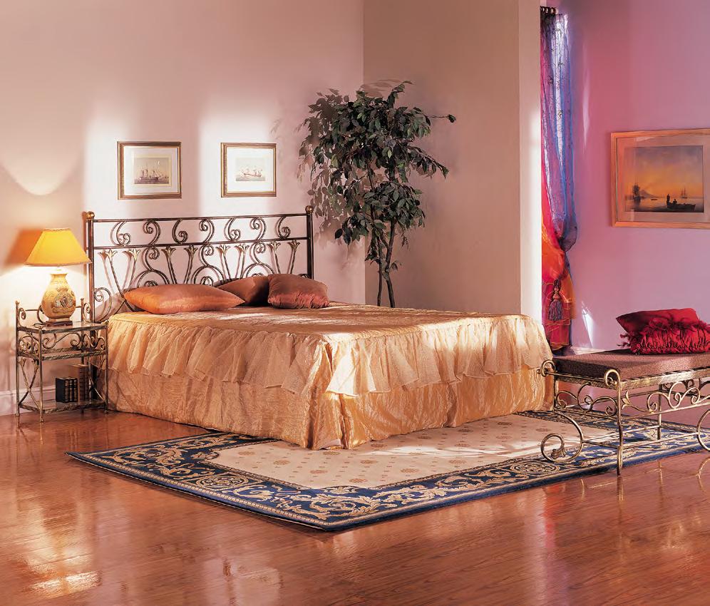 Кованая кровать Луиза