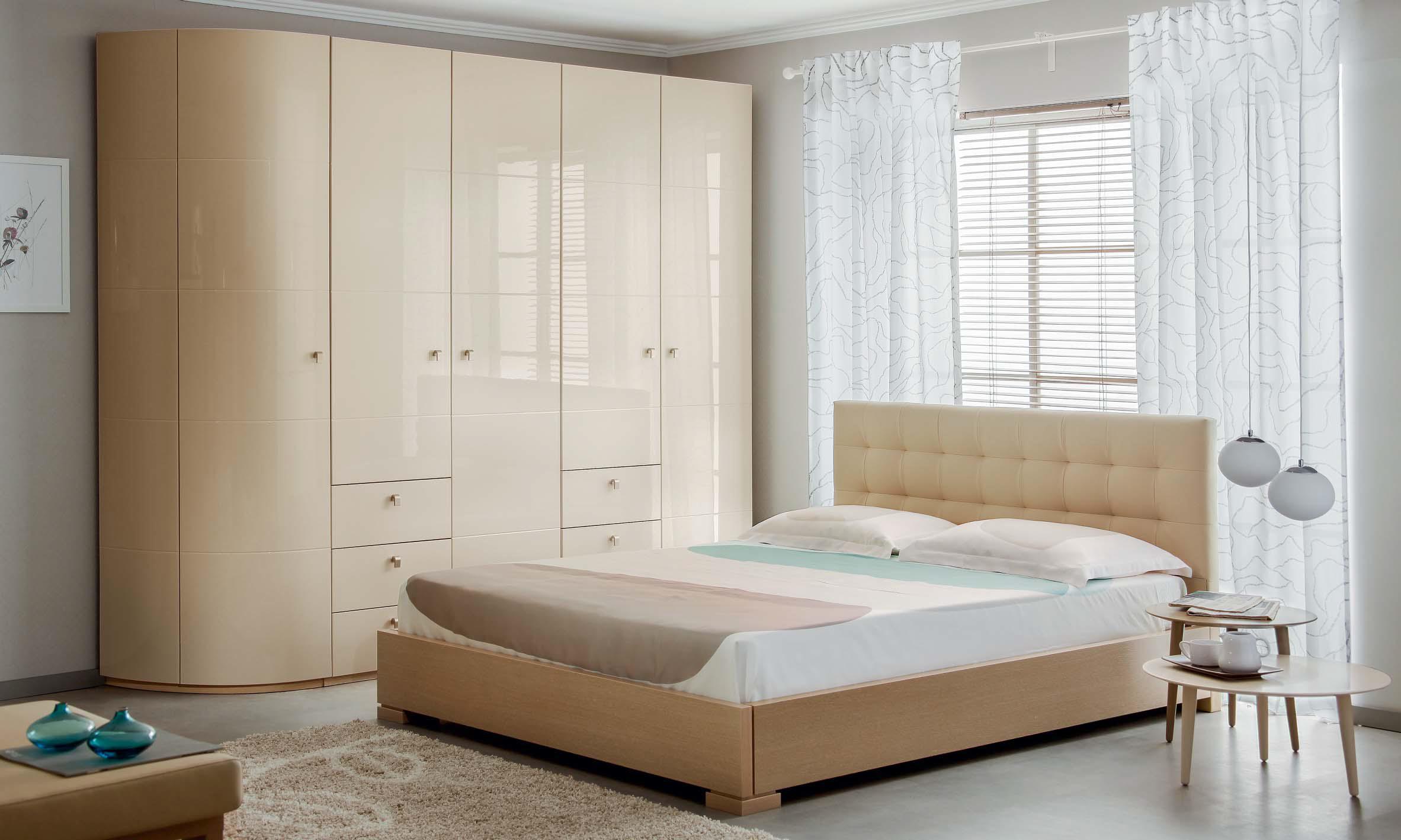 Купить глянцевую спальню в санкт-петербурге: узнать цены в и.