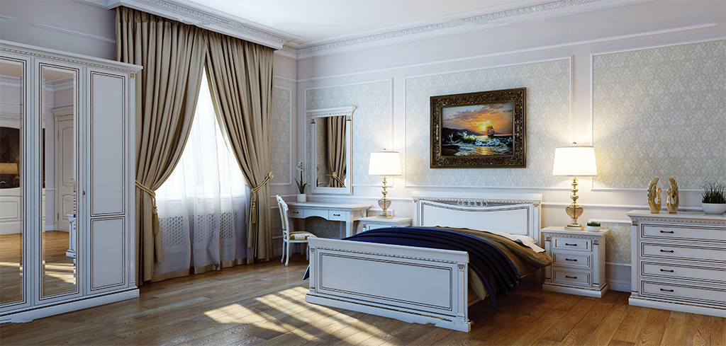"""Спальня """"Venezia Bianco"""""""